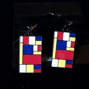 1960's and/or 1980's Retro Earrings